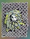 Green Man Knotwork